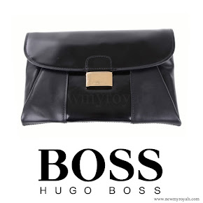 Queen Letizia style HUGO BOSS Fanila Clutch Bag