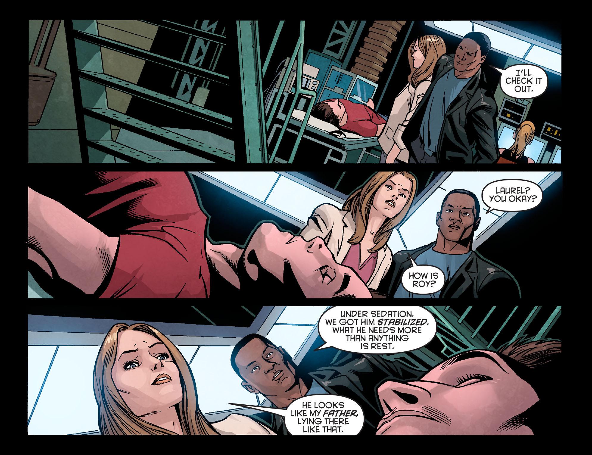 Read online Arrow: Season 2.5 [I] comic -  Issue #5 - 14