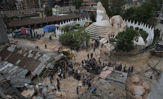 Earthquake April 25 in Nepal