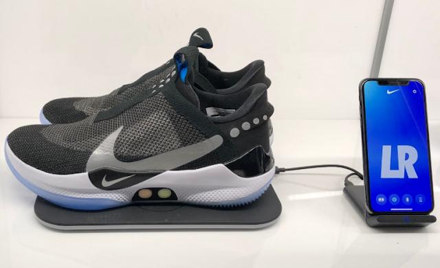 """كشفت نايكي النقاب عن أحذية رياضية مستقيمة وأنيقة، الحذاء بجيل جديد من تقنية Nike الأوتوماتيكية """"جلد أوتوماتيكي"""""""