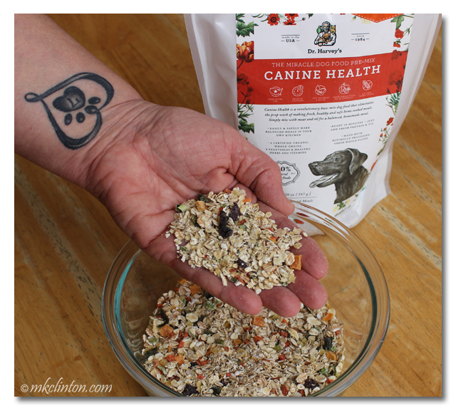 Dr. Harvey's Canine Health dog food