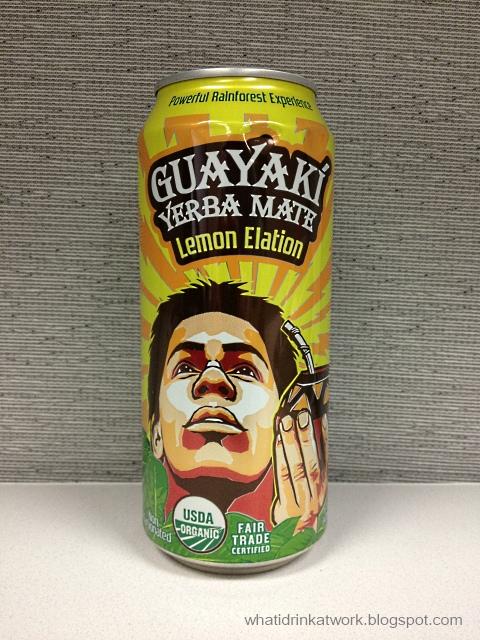 What I Drink At Work: Guayaki Yerba Mate Lemon Elation