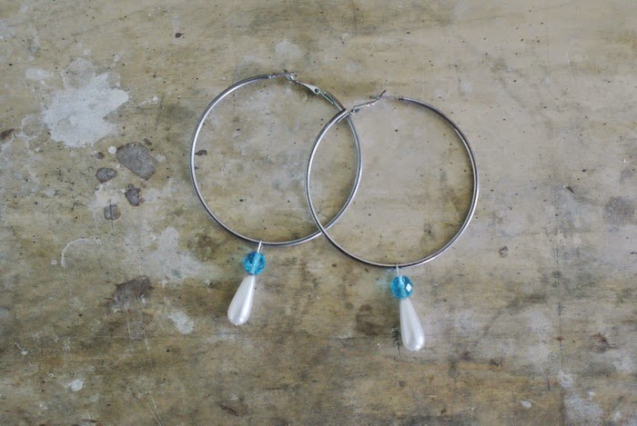 pendant fashion earrings diy hoops