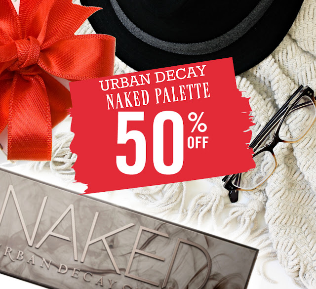 Urban Decay Smokey Palette 50% Off by top beauty blogger barbies beauty bits