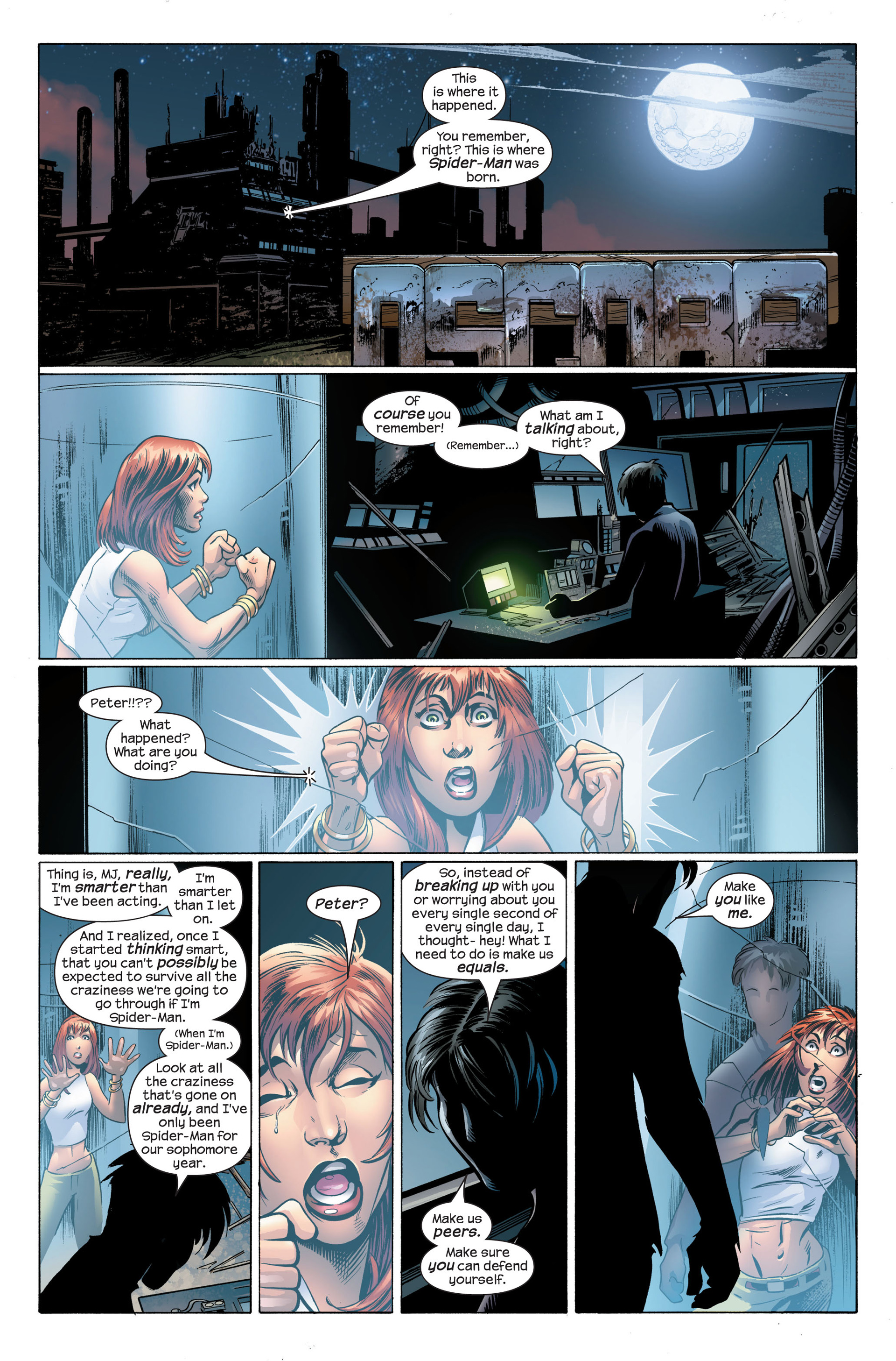 Read online Ultimate Spider-Man (2000) comic -  Issue #99 - 5