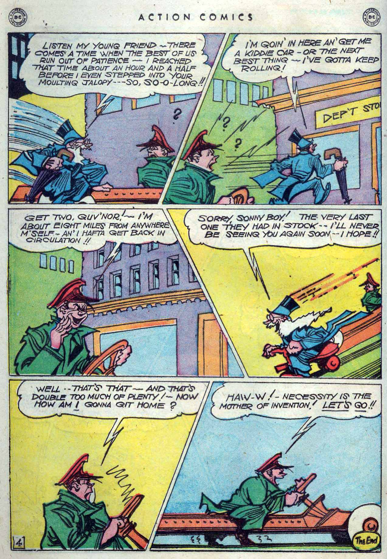 Read online Action Comics (1938) comic -  Issue #119 - 36