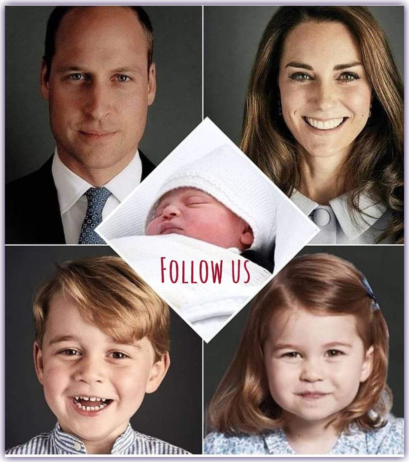 Follow Duchess Kate, Prince William and the three Royal Kids on Facebook