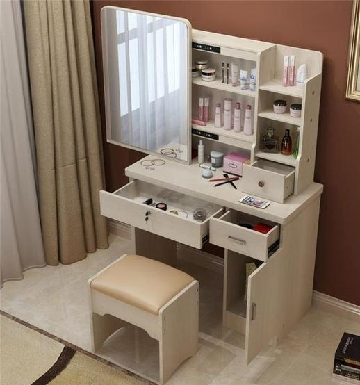 Latest 70 Modern Dressing Table Designs With Mirror For