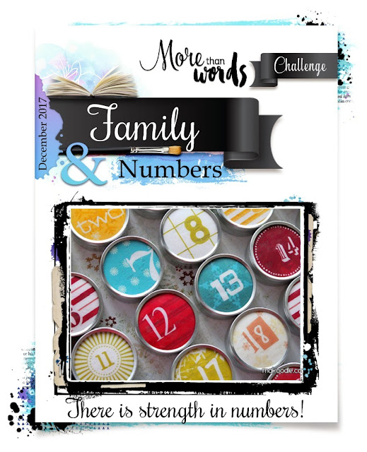 December  2017 Main Challenge  FAMILY & NUMBERS