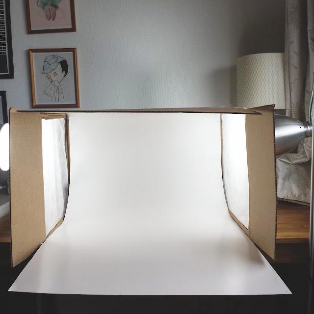 DIY fotoboks til netthandleri Be:Eco