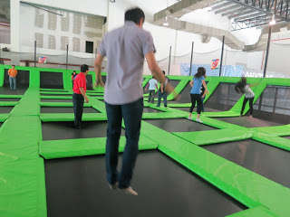 Austin Heights Fun Village bouncing jump street