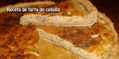 Receta de tarta de cebolla✅fácil de preparar con ingredientes que tenemos a mano, es tan fácil y rendidora que te saca de apuros cuando no sabés qué cocinar