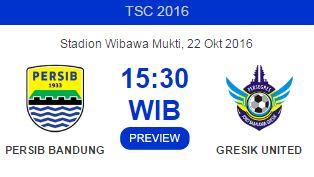 Prediksi Persib Bandung vs Persegres Gresik 22 Oktober 2016