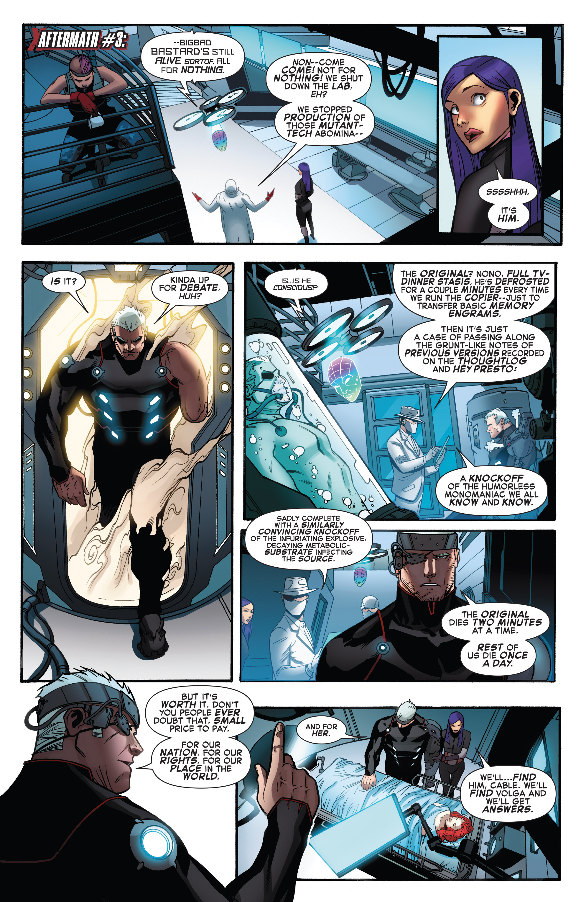 Read online X-Force (2014) comic -  Issue #6 - 19