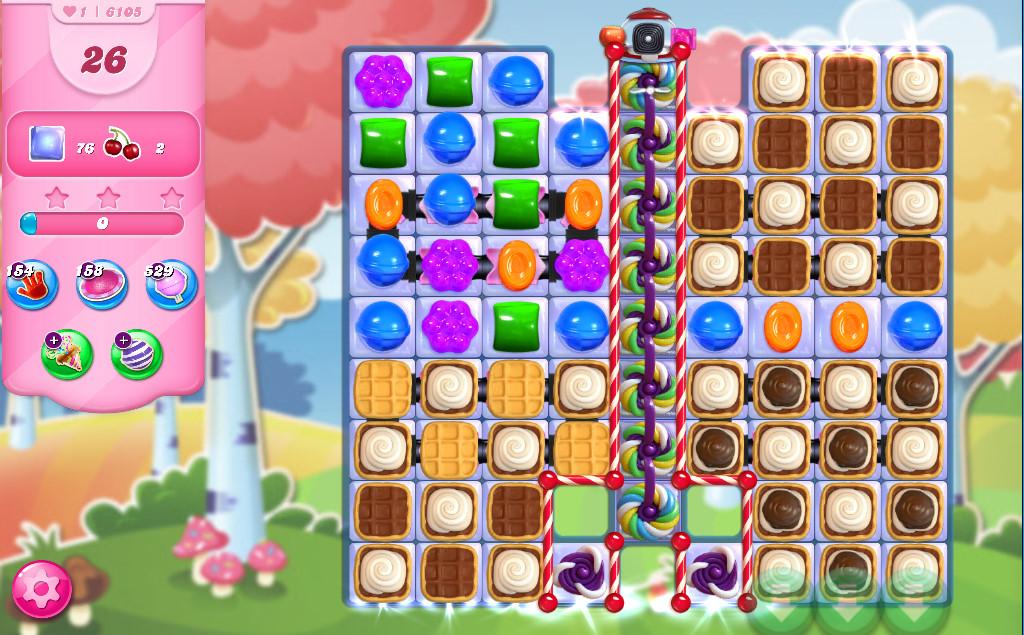 Candy Crush Saga level 6105
