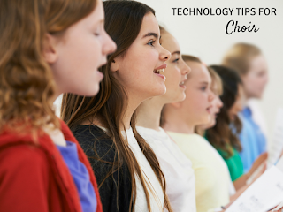 Technology Tips for Choir: Using Google Forms to have students sign in to choir, but could also work with band, orchestra, or any other musical ensemble. Such a time saver!