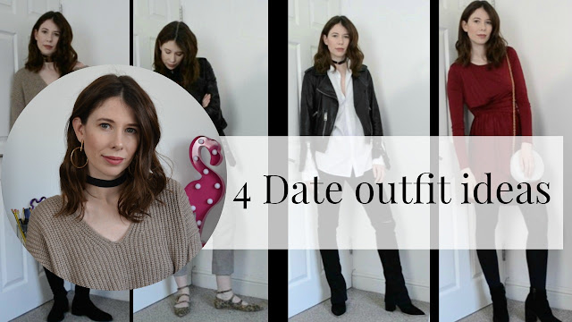 4 date outfit ideas ft affordable  high street fashion from Topshop, Urban outfitters, Office, Allsaints. Perfect Valentines day date outfit ideas