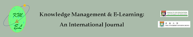Vol 11, No 1 (2019)  Knowledge Management & E-Learning: An