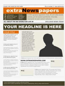 4 Microsoft Word Newspaper Template It Here