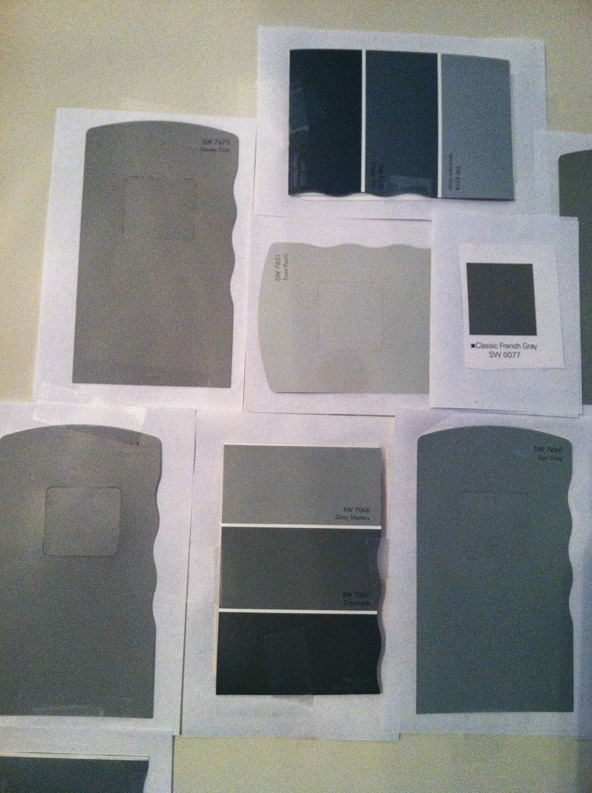 shades of gray paint medium gray laforce be with you. Black Bedroom Furniture Sets. Home Design Ideas