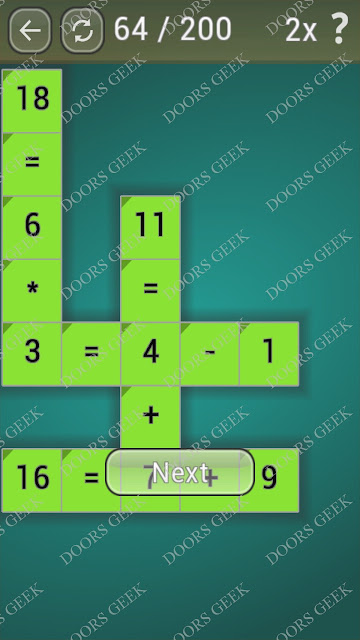 Math Games [Beginner] Level 64 answers, cheats, solution, walkthrough for android