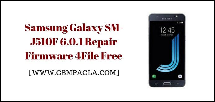 Samsung Galaxy J5 2016 Repair Firmware