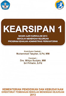 Download Buku Paket Mapel Kearsipan Semester 1 SMK Kelas 10 Kurikulum 2013 PDF