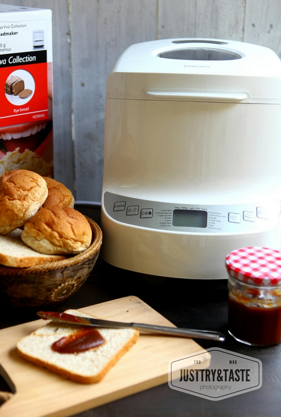 Cinnamon Raisin Bread dengan Bread Maker JTT