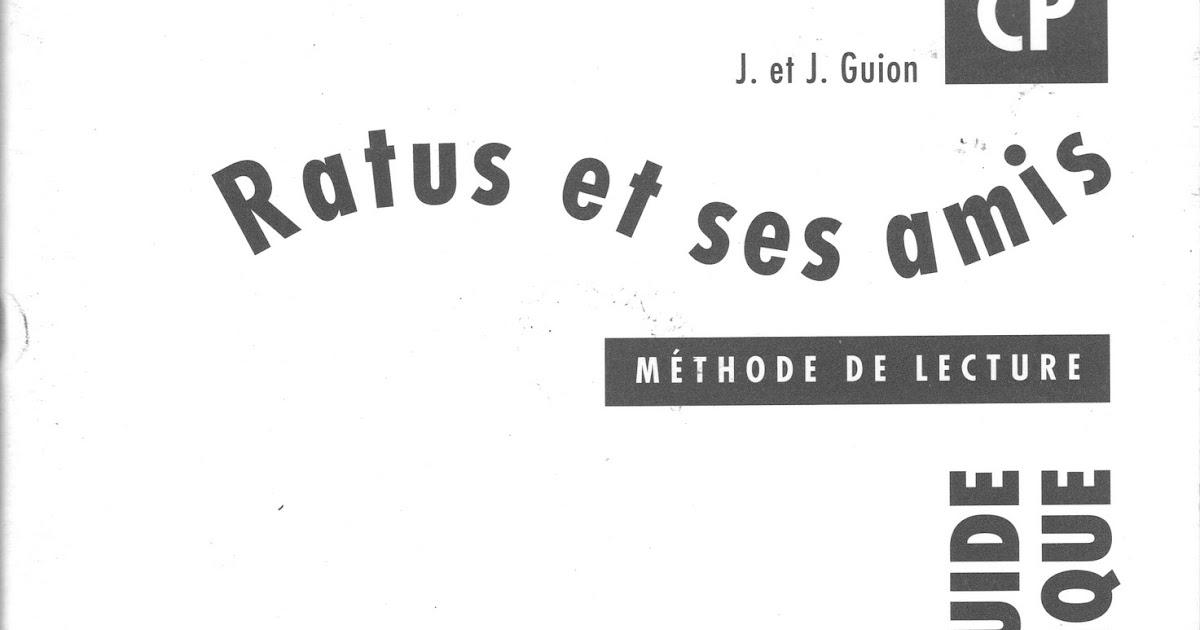 Manuels anciens: Guion, Ratus et ses amis CP, guide