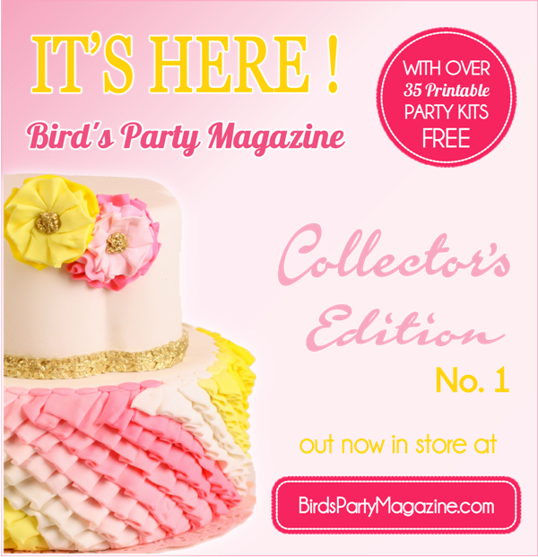 Numéro 1 Collecteur Bird's Party Magazine | BirdsParty.fr