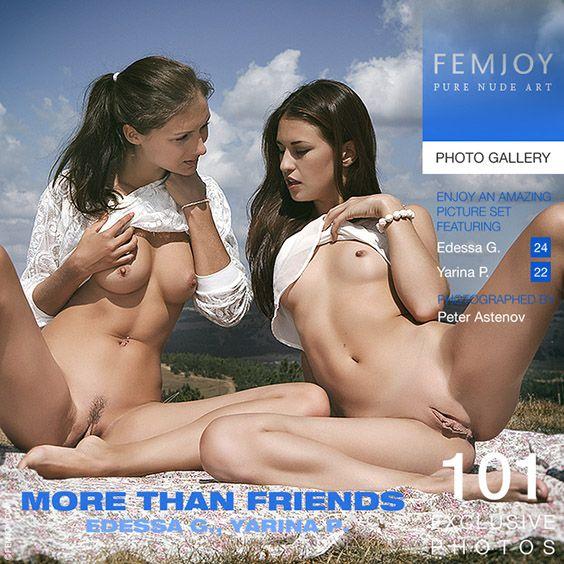 FemJoy - Edessa G., Yarina P. - More Than Friends - idols