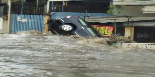 WOW DAHSYAT NYA BANJIR BANDUNG..!! BMKG Ingatkan Banjir Bandung Bisa Terulang..!!