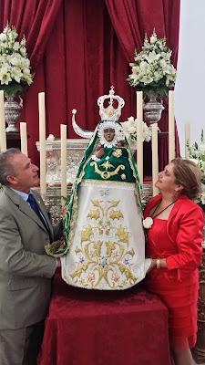 Bendición la Morenita de Almería