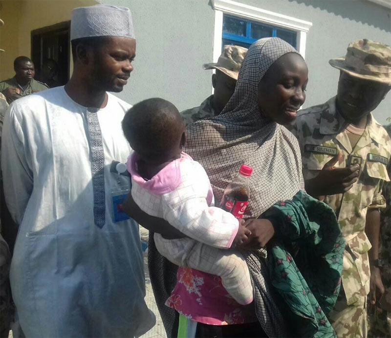 Buhari commends Army over rescue of Chibok girl
