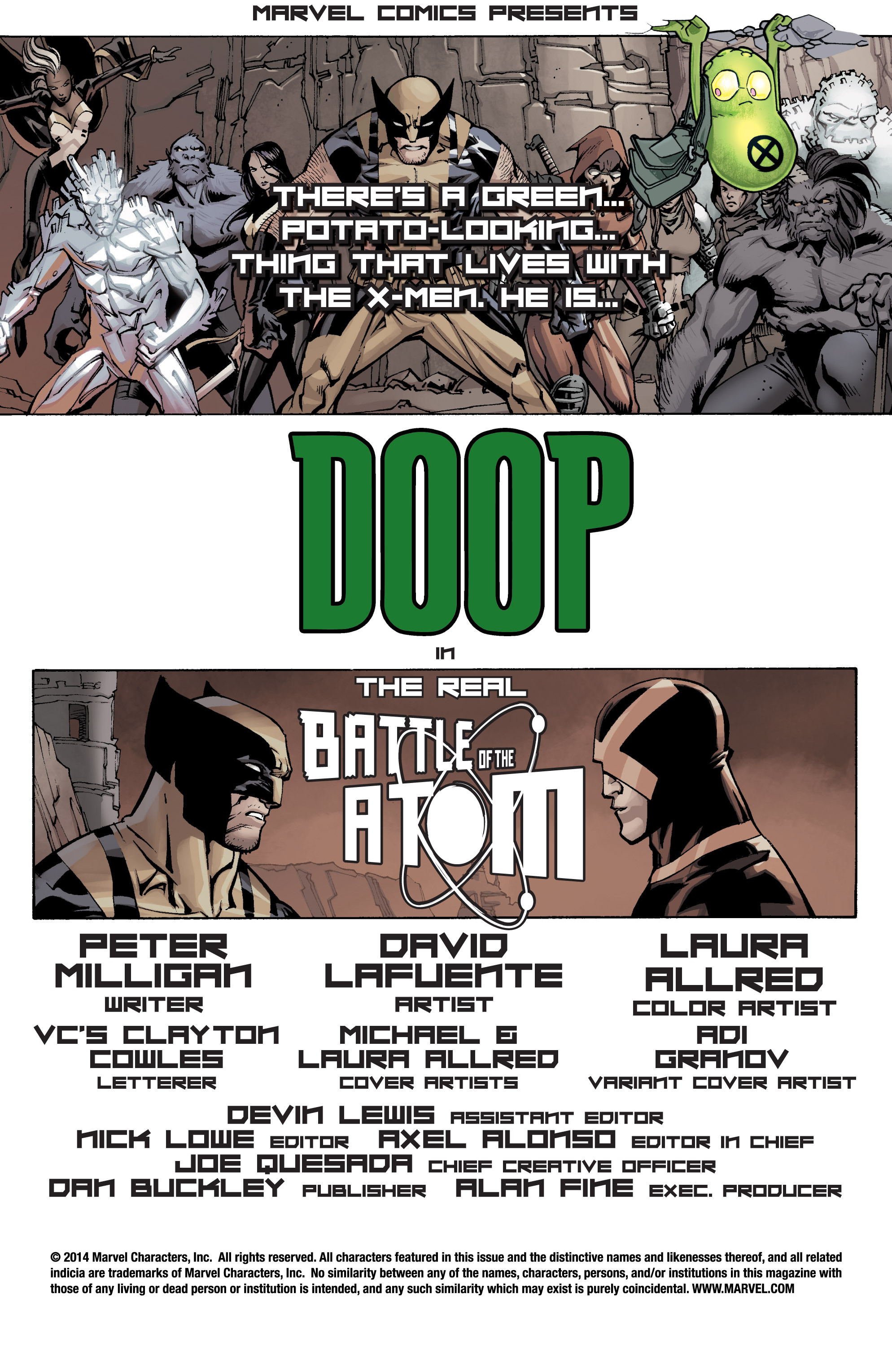 Read online All-New Doop comic -  Issue #1 - 2