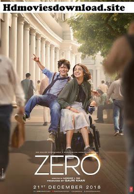 Zero 2018 Full Movie Download 720p DVDScr 700MB