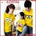 AKC225K47 Kaos Couple Anak 225K47 Keluarga BMGShop