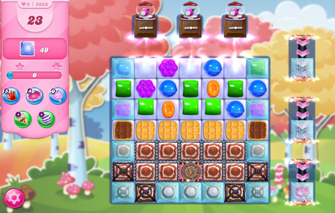 Candy Crush Saga level 5923