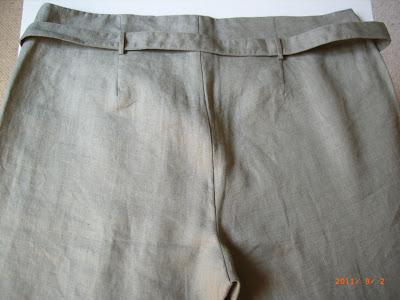 RENE DERHY - Ensemble top et pantalon vert - Pantalon TM et top TL - NEUF