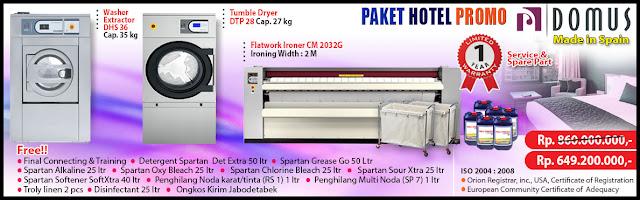 Paket Mesin Laundry Hotel2