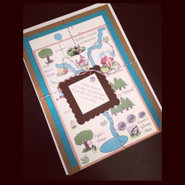 Juneberry Lane: Vintage Pooh Invitations & Labels