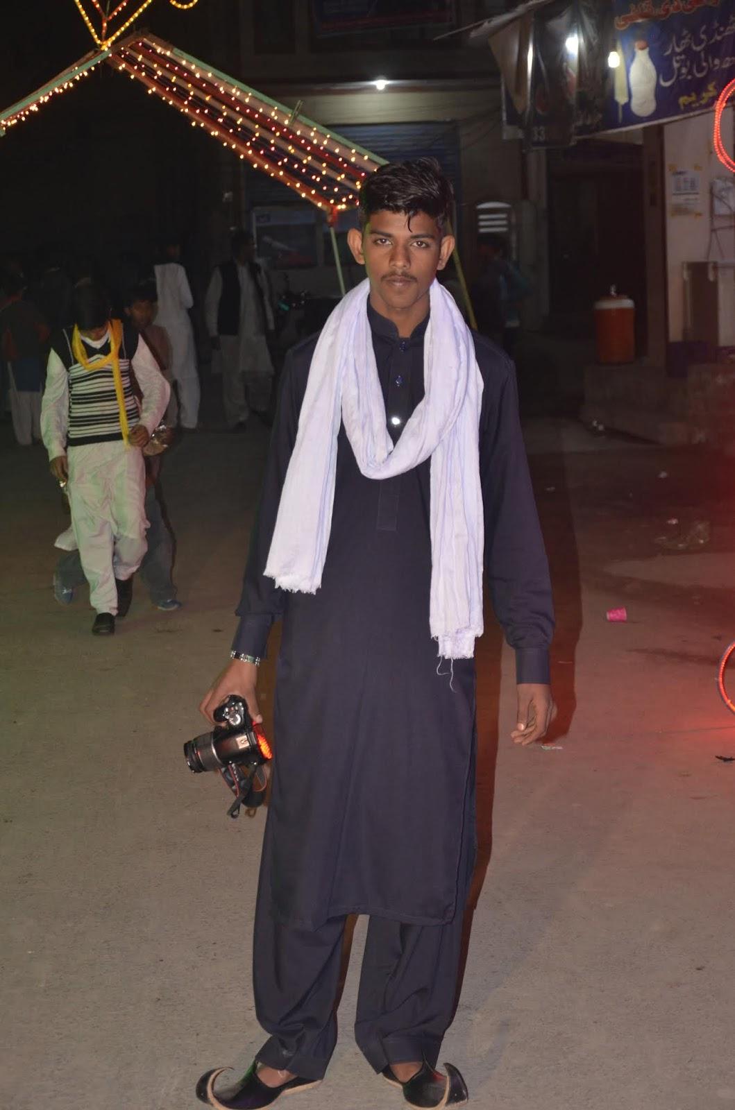 M Bilal Rajpoot Portraits Collection - Muhammad Bilal