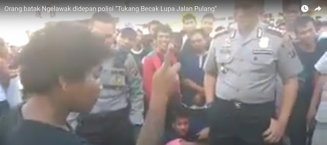 VIDEO LUCU: Orang Batak Ngelawak Cerita Tukang Becak Didepan Polisi