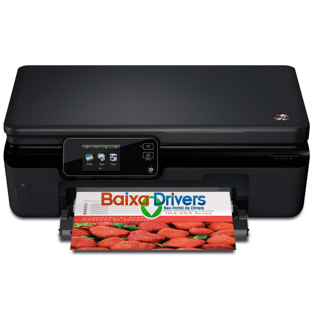 Impressora e-Multifuncional HP Deskjet Ink Advantage 5525 ...