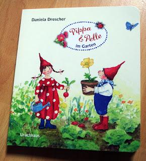 Daniela Drescher - Pippa und Pelle im Garten