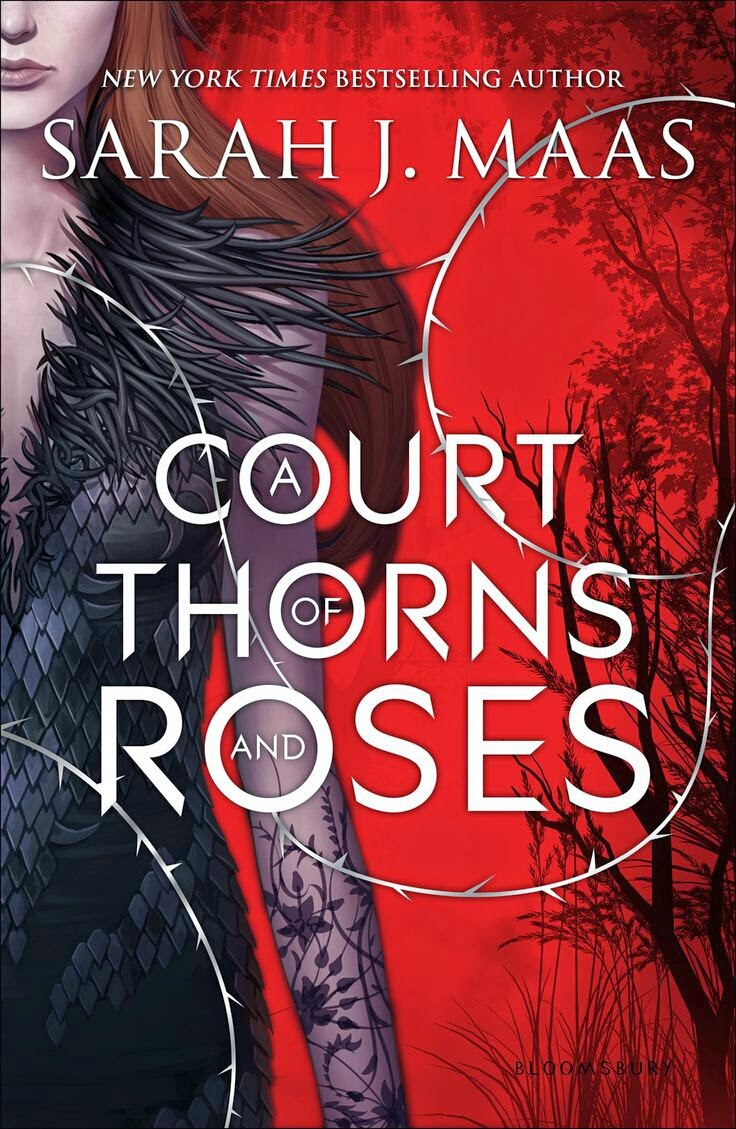 Book Cover A Court of Thorns and Roses by Sarah J. Maas