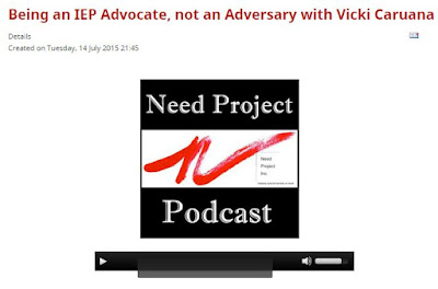 Apples & Chalkdust: Being an IEP Advocate, Not an Adversary