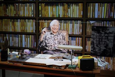 鳥取観光 水木しげる記念館 水木しげる先生の書斎