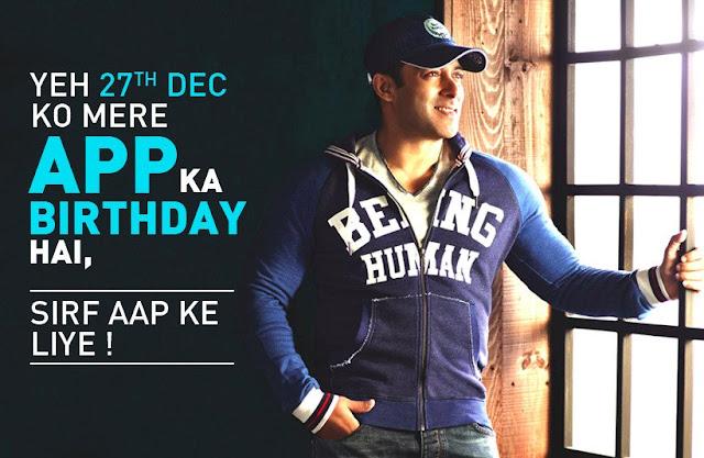 Salman Khan to launch his Mobile App on his Birthday??