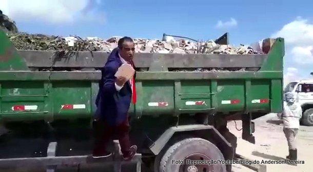 Fiscalização: Após denúncia, vereadores flagram superfaturamento na coleta de lixo em Goiana